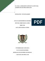 Guía Metodológica Para La Implementación de Una GPON Para Transmisión de Múltiples Servicios
