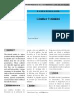 Articulo de Nodulo Tiroideo