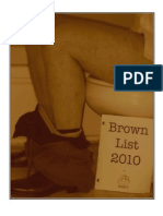 Brown List 2010