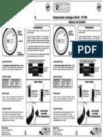 Manual temporizador analógico