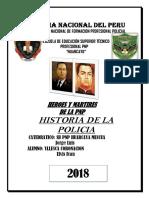 Monografia Heroes y Martires Pnp
