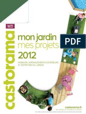 Catalogue Castorama Mon Jardin Mes Projets 2012