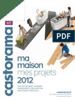 Catalogue Castorama - Ma Maison, Mes Projets - 2012