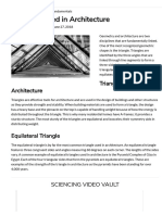 Triangles Used in Architecture _ Sciencing