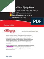 Mechanical Seal Piping Plan Pocket (Per API Standard 682)