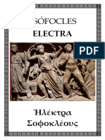 Sofocles - Electra (Bilingue)