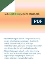 SSK Stabilitas Sistem Keuangan