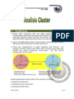 Modul Analisis Cluster