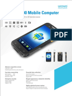 Urovo-Model i6300 With Android 7.1- Product Catalog(India) 20062018