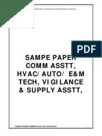 Sample Paper Comast E_m Hvac Auto Vig Supply