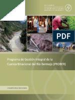 RIO GRANDE de TARIJA Programa de Gestion Integral de La Cuenca Binacional Del Rio Bermejo (Prober)
