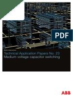 Medium Voltage Capacitor Switching