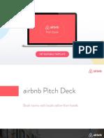 Airbnb Pitch Deck