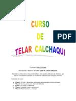 Curso de Telar Calchaqui