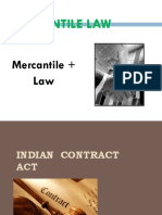Lecture1-2_mercantile Law & Indian Contract Act and Essentials of Valid Contract