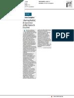 StartupItalia! Il successo della biotech EryDel - Il Corriere della Sera del 18 dicembre 2018