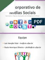 Uso Corporativo Redes Sociais