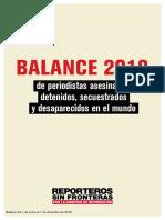 Balance 2018 RSF