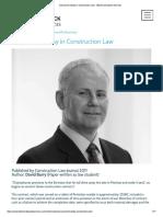 Concurrent Delay in Construction Law - Blackrock Expert Services