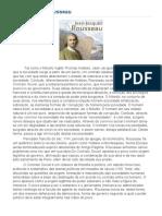 Artigo Jean-Jacques Rousseau Portal Consciência Política PREPARANDO PARA a AV2