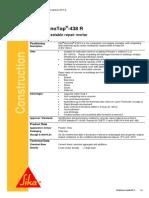 Sika MonoTop 438 R - Micro Concrete - PDS (1)