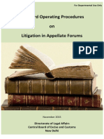 sop on litigation