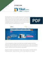Sistem Informasi Tiket.com