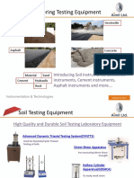 Most Important Civil Engineering Instrumentation for Soil Testing, Rock Testing, Concrete Testing, Cement Testing & Hydraulic Testing