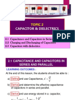 Topic 2 Capacitor and Dielectrics Lecture