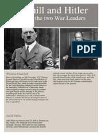 Chruchill Hitler Text