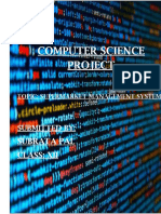 Project Computer Science