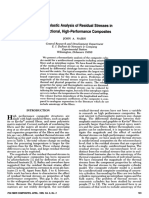 7-1985 Thermoelastic Analysis of Residual Stresses in Unidirectional, High-Performance Composites by Nairn