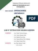 Informe Extraccion Solido Liquido