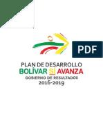 Plan de Desarrollo Bolívar Sí Avanza 2017 2019