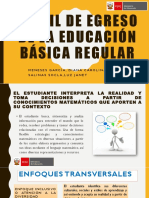 Perfil de Egreso de La Educación Básica Regular 12