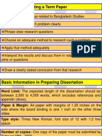 ASA University Term Paper Guidelines