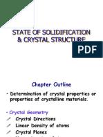 CH 5 CIVL 283 Crystal Geometry