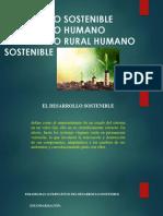 2. Desarrollo Sostenible Humano Antecedentes y Diferencia Con El Desarrollo Rural Sostenible