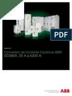 3ADW000192R0608 DCS800 Catalogo Tacnico FConversor CC CC ABB