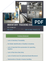 RFID Inventory Tracking Solution