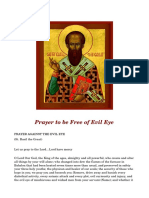 St. Basil the Great - Prayer to be Free of Evil Eye.pdf