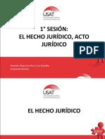 Hechos Juridicos Acto Juridico