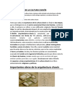 ARQUITECTURA DE LA CULTURA CHAVÍN.docx
