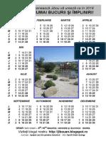 BIBL Calendar 2018 Format A4