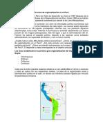 Proceso de Regionalización en El Perú