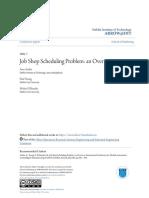 Job Shop Scheduling Problem- An Overview