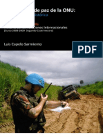 Operaciones de Paz Onu