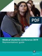 Representatives Guide for MSC Conference 2019