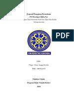 Proposal Pengajuan Perusahaan