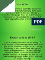 Junit Interview Questions-ppt